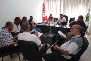 Une séance de travail sur la levée des violations constatées du projet